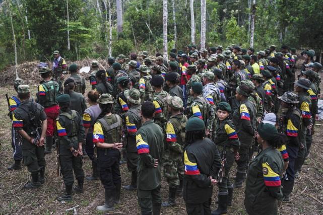 Cet accord sans précédent marque une avancée décisive... (PHOTO Federico Rios Escobar, ARCHIVES The New York Times)