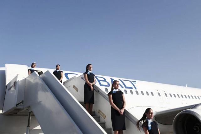 Une nouvelle compagnie aérienne se lance début juillet à Chypre avec l'espoir... (PHOTO AFP)