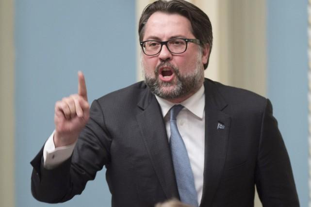 Le ministre québécois de l'Environnement, David Heurtel... (PHOTO Jacques Boissinot, ARCHIVES PC)