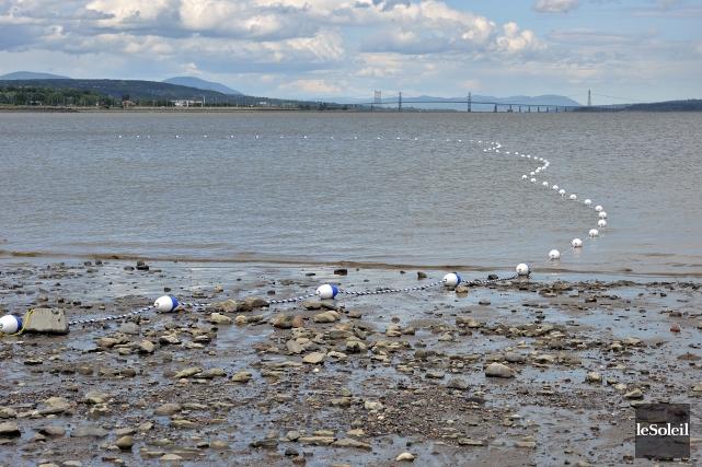 La Baie de Beauport s'est révélé le site... (Photothèque Le Soleil, Patrice Laroche)