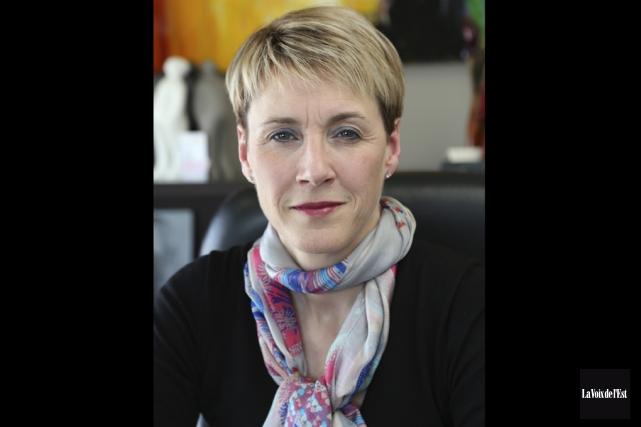 La présidente de la Commission canadienne des droits... (archives La Voix de l'Est)