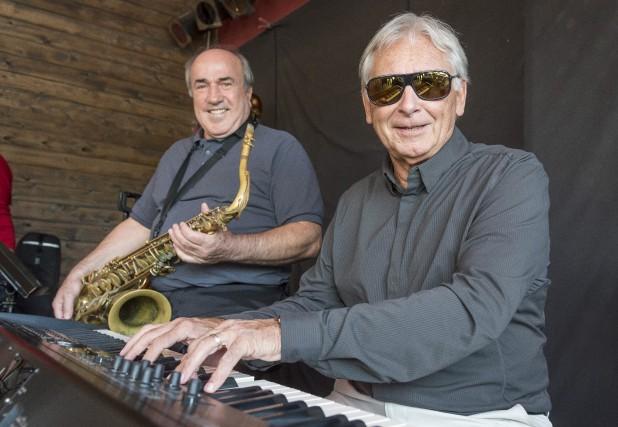 Musiciens bien connus à Sherbrooke et en Estrie, Jean-Jacques Beauchamp et... (Spectre Média, Frédéric Côté)
