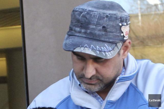Bhupinderpal Gill est accusé de meurtre avec préméditation.... (Etienne Ranger, Archives LeDroit)