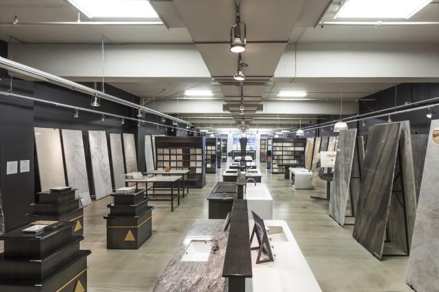 La boutique et la salle d'exposition de Summum... (Photo fournie par Summum Granit)