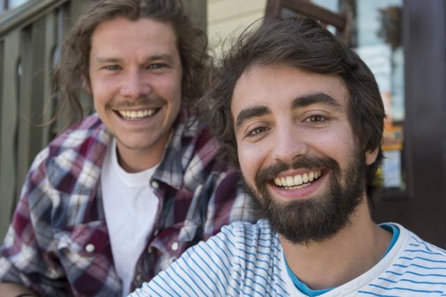 Simon Turcotte et Guillaume Bouliane-Blais sont deux des... (Spectre Média, Frédéric Côté)