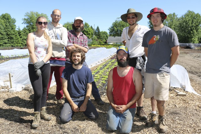 Des élèves travailleront tout l'été au jardin-école du... (Fournie par le centre de formation professionnelle Fierbourg)