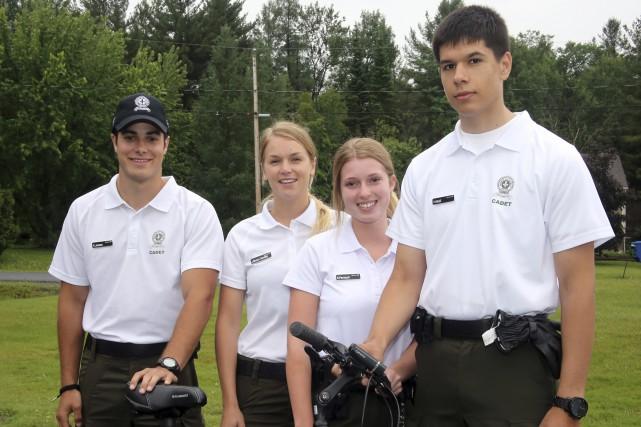 Les cadets de la Sûreté du Québec seront... (Christophe Boisseau-Dion)