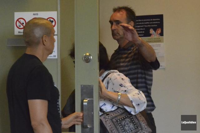 Fabien Paul écope d'une peine d'emprisonnement en collectivité... (Photo Le Quotidien, Louis Potvin)