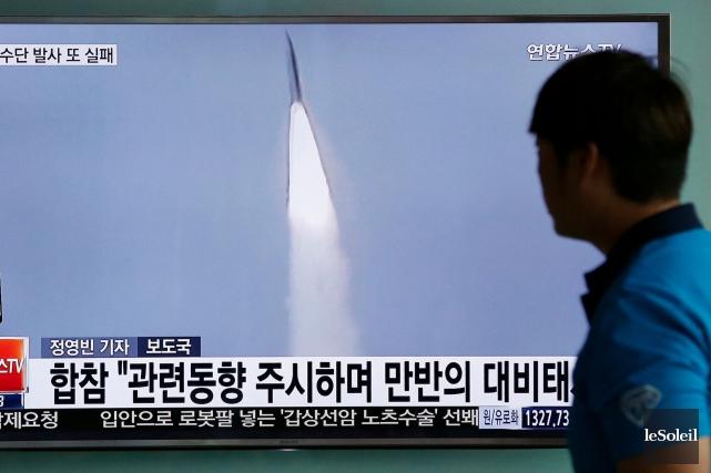 Séoul et Washington ont lancé la semaine dernière... (Photothèque Le Soleil)