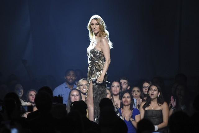 Céline Dion sera en spectacle à partir du... (Agence France-Presse)