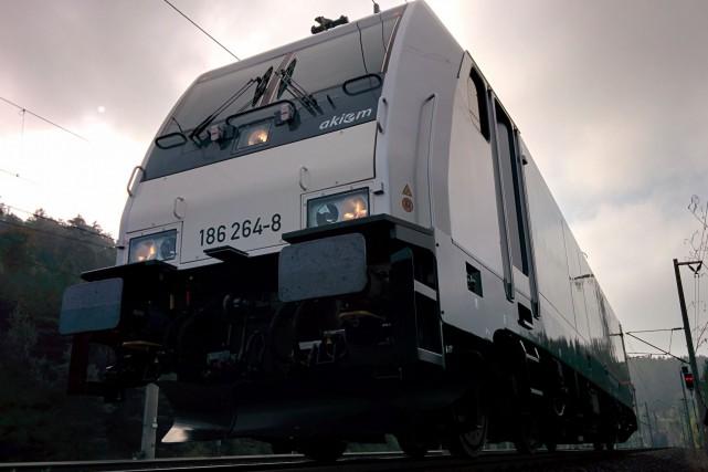 Locomotive Traxx de Bombardier... (Fournie par Bombardier)