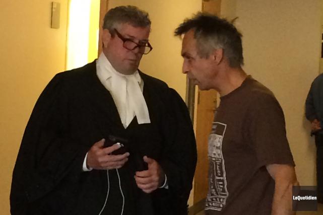 Le criminaliste Charles Cantin a expliqué les détails... (Photo Le Quotidien, Stéphane Bégin)