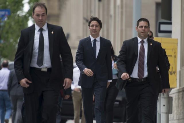 En dressant mercredi le bilan de la session... (La Presse Canadienne)