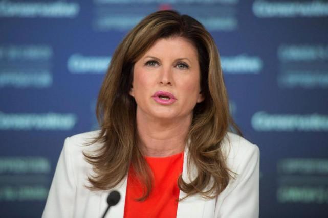 La chef intérimaire du Parti conservateur, Rona Ambrose,... (PHOTO ADRIAN WYLD, LA PRESSE CANADIENNE)