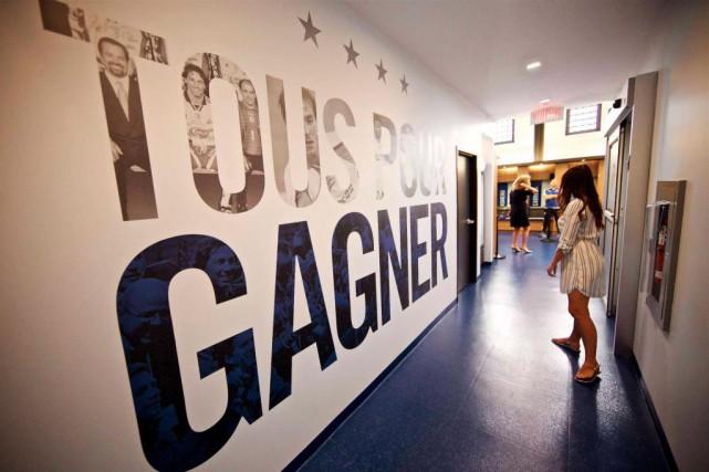 Baptisé Centre Nutrilait, le nouveau centre d'entraînement quotidien... (Photo André Pichette, La Presse)