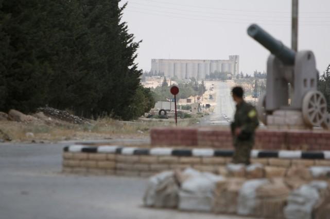 Située dans la province d'Alep, Minbej est un... (Photo Rodi Said, REUTERS)