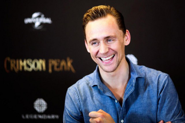 L'acteur britanniqueTom Hiddleston... (Photo Markus Schreiber, archives Associated Press)