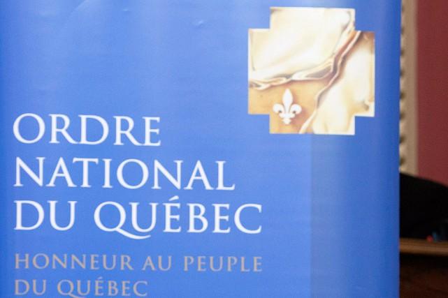 Une trentaine de personnalités québécoises ont été admises au prestigieux Ordre... (PHOTO ARCHIVES PC)