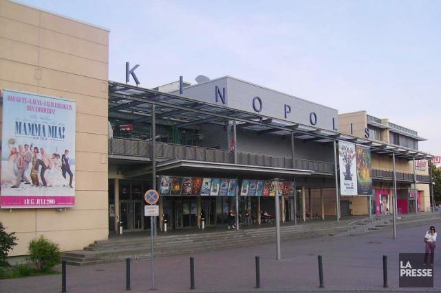 Le cinéma multiplex de Viernheim où se serait... (PHOTO @antoine_nantes, TWITTER)