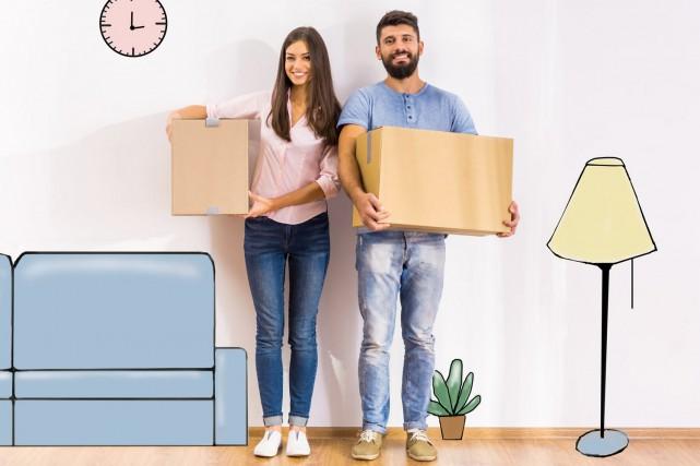 Un déménagement exige une bonne planification. En appliquant ces quelques... (123 RF)
