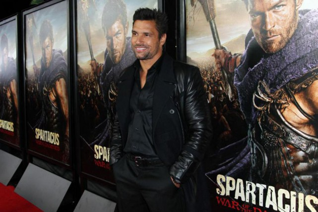 Manu Bennett... (Photo Matt Sayles, Archives Associated Press)