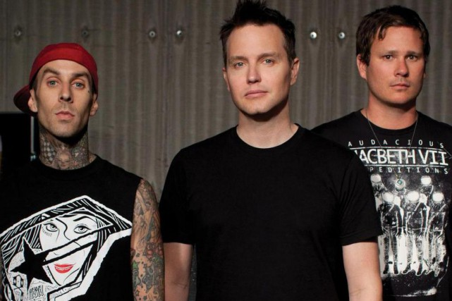Blink-182... (Photo fournie par Sony Music)