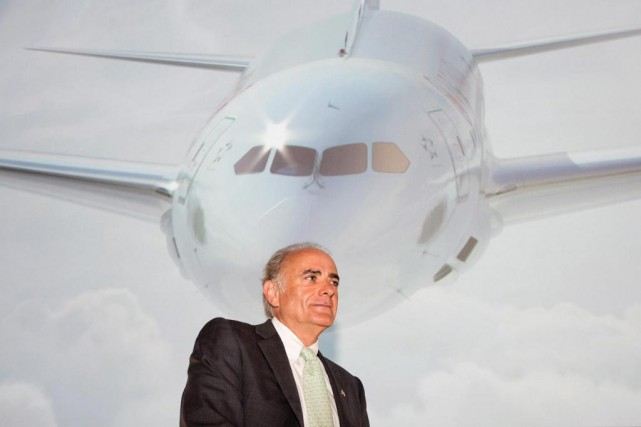 Le président et chef de la direction d'Air... (PHOTO DARREN CALABRESE, ARCHIVES LA PRESSE CANADIENNE)