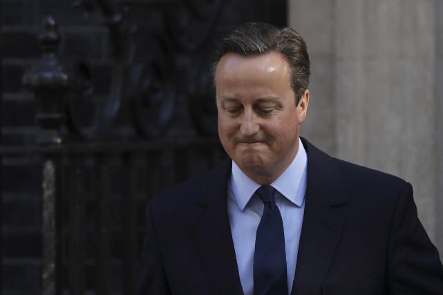 Le premier ministre britannique David Cameron a annoncé... (AFP, ADRIAN DENNIS)