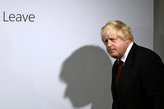 Boris Johnson, l'ancien maire de Londres et bouillonnant... (Photo Mary Turner, Reuters)