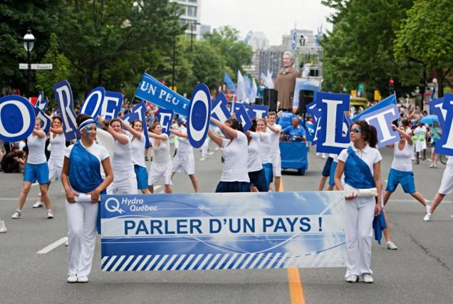En cette journée de fête nationale, notre chroniqueur... (Photo François Roy, Archives La Presse)