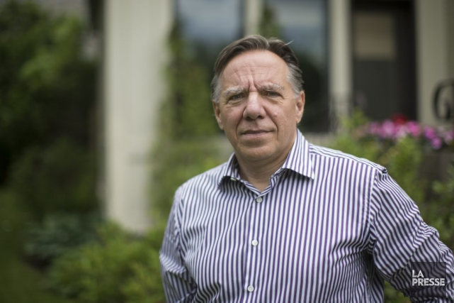 Le chef de la Coalition avenir Québec, François... (Archives La Presse)
