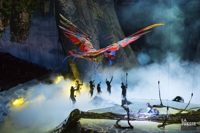 Pas de chapiteau pour le grand leonopteryx: la créature volante - celle que les... (Archives, La Presse)