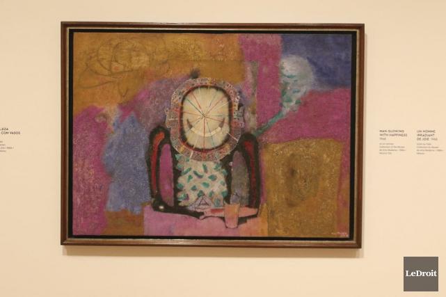 Un homme irradiant de joie (1968), de Rufino... (Patrick Woodbury, LeDroit)