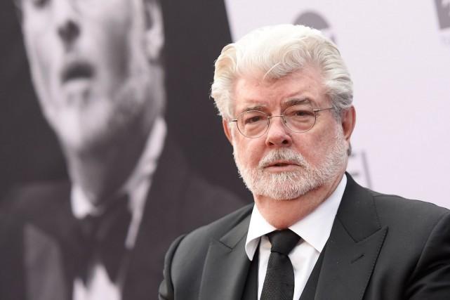 George Lucas... (AFP, ANGELA WEISS)