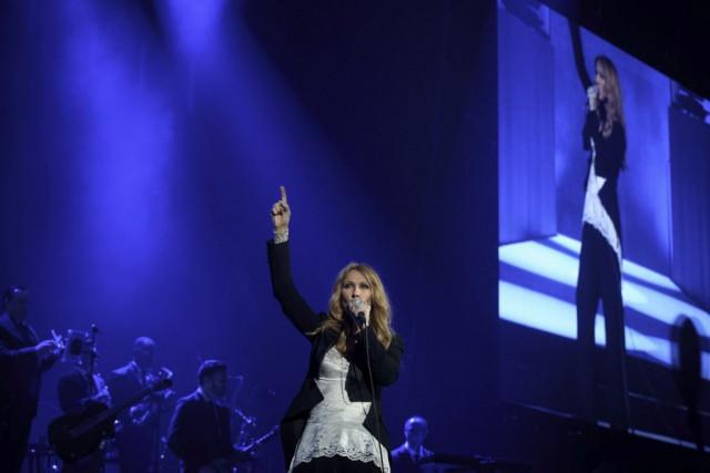 Céline Dion... (PHOTO PHILIPPE LOPEZ, AFP)