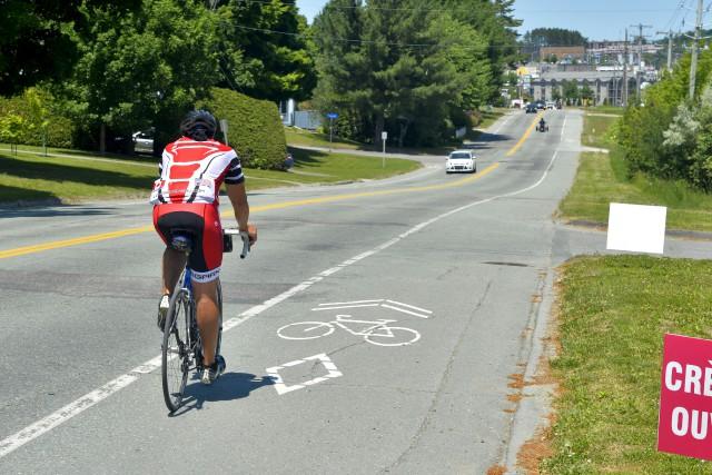 De nouveaux corridors pour les cyclistes ont été... (Spectre Média, Maxime Picard)