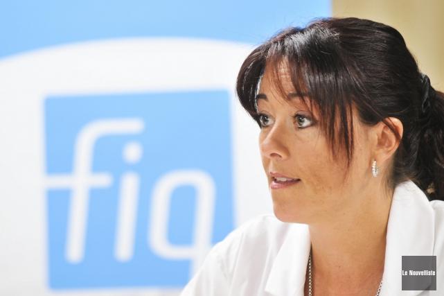 Nathalie Perron, porte-parole de la Fédération interprofessionnelle de... (Archives Le Nouvelliste)