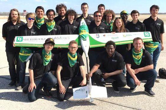 Une équipe d'étudiants de la Faculté de génie... (Photo fournie)
