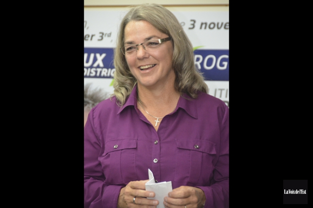 Lucie Fréchette pourrait devenir la première mairesse de... (Archives La Voix de l'Est)
