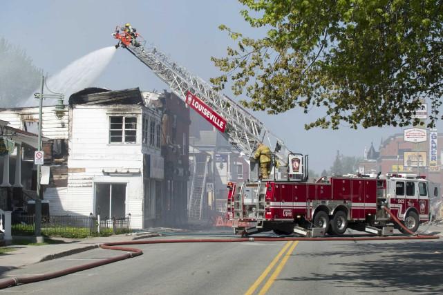 L'incendie du 23 mai a pris naissance dans... (Sylvain Mayer)