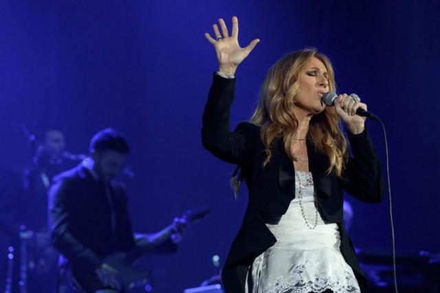 Céline Dion se produira huit autres fois àl'AccorHotels... (PHOTO PHILIPPE LOPEZ, AGENCE FRANCE-PRESSE)