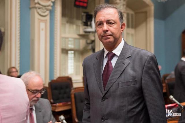 Régis Labeaume exige le retour d'un ex-ministre, Sam... (Archives La Presse Canadienne, Jacques Boissinot)