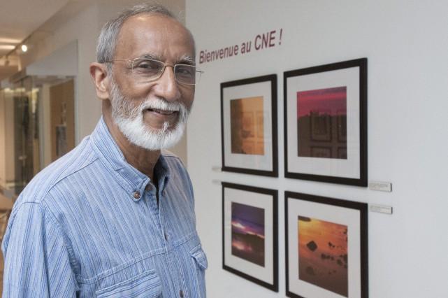 Homme très matinal, Jayanta Guha a mis à... (Photo Le Progrès-dimanche, Michel Tremblay)