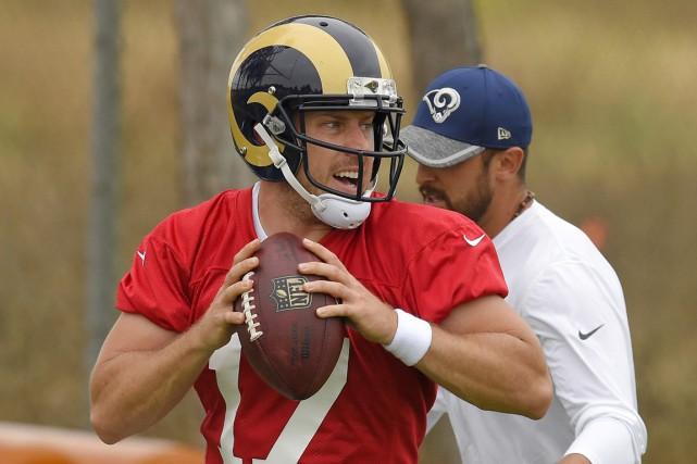 Les Rams qui avaient quitté Los Angeles pour... (Photo AP)