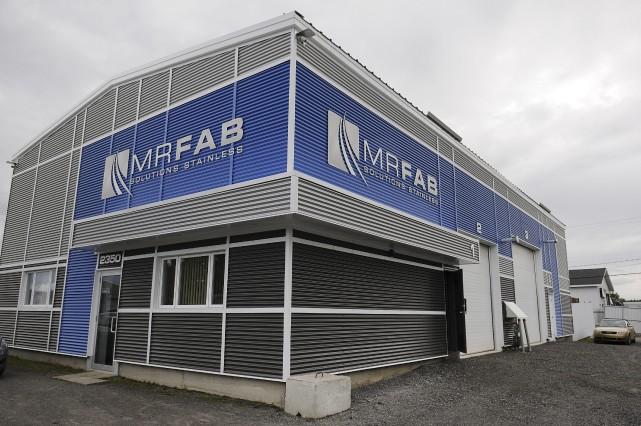 L'entreprise spécialisée dans la fabrication d'équipement en acier... (Photo Le Progrès-dimanche, Mariane L. St-Gelais)