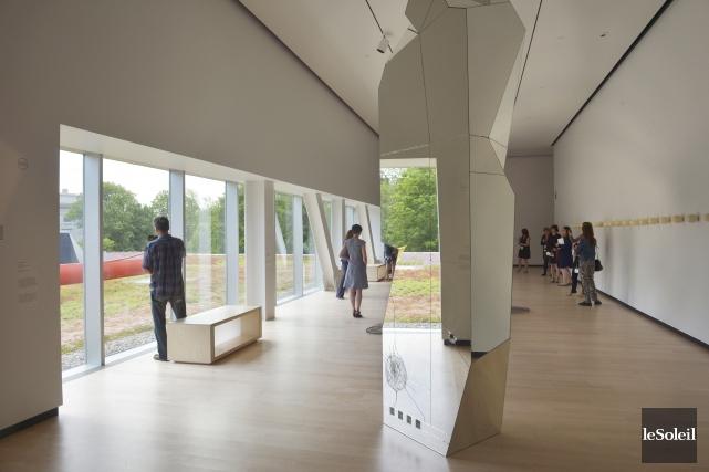 Le nouveau pavillon du Musée national des beaux-arts... (Le Soleil, Jean-Marie Villeneuve)
