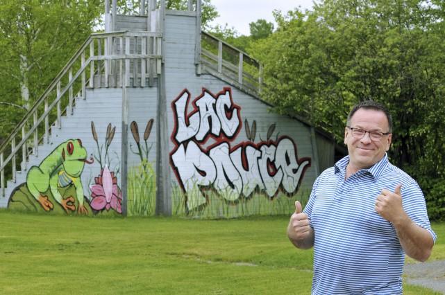 Le directeur général du Centre du Lac Pouce,... (Photo Le Progrès-dimanche, Rocket Lavoie)