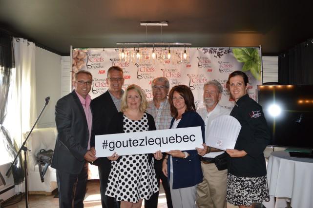 La Tournée des chefs «Goûtez le Québec» s'arrêtera... (Photo courtoisie)