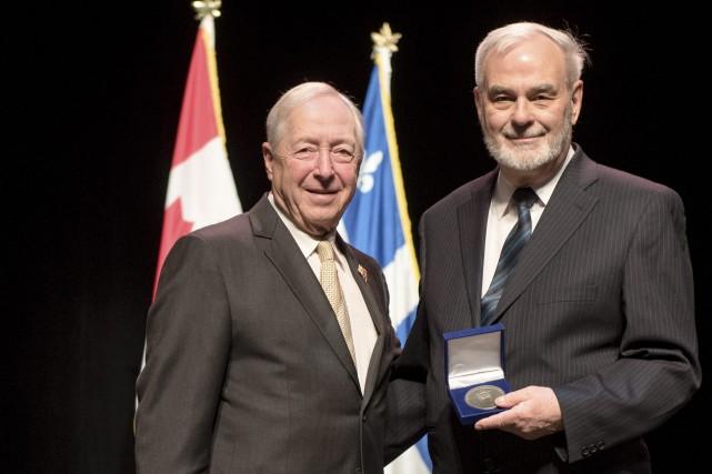 Le lieutenant-gouverneur du Québec J. Michel Doyon en... (Photo courtoisie)