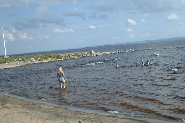 L'érosion annuelle détériore l'état de la plage de... (Archives, Le Progrès-dimanche)